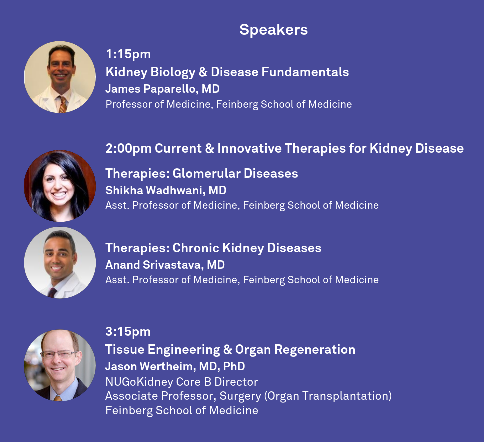 NUGoKidney & CLP to Co-host Kidney Disease Research Workshop in Evanston