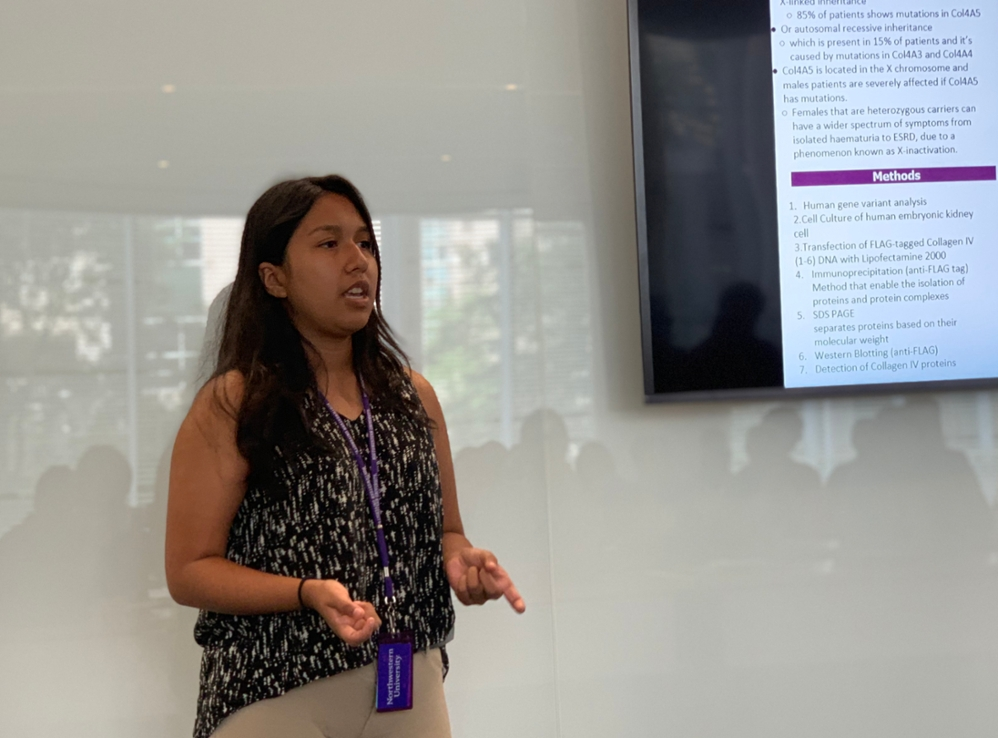 Monserrat Estrada, SciHigh Student, Learns Imperfections Make for Better Science